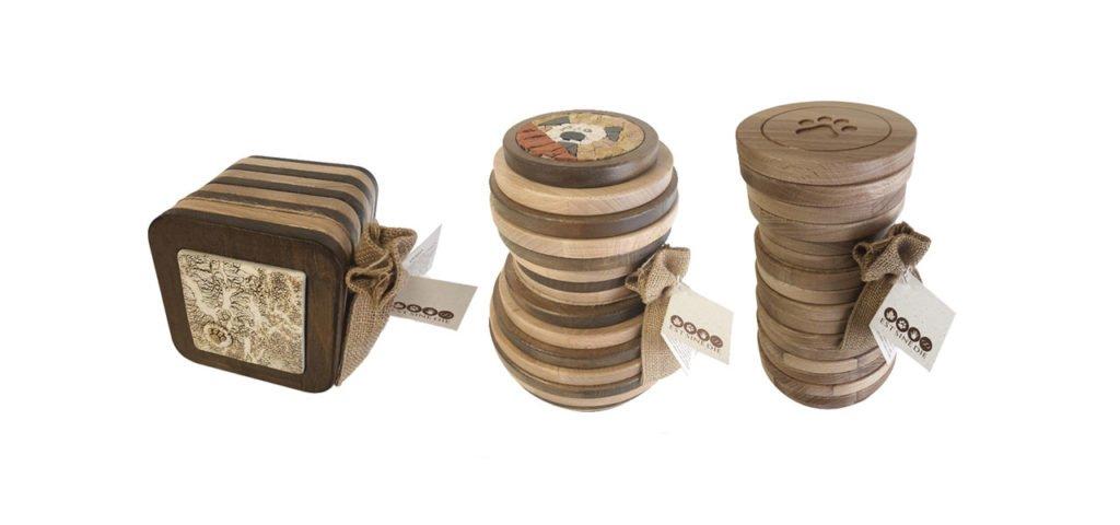 Urne in legno massello per animali